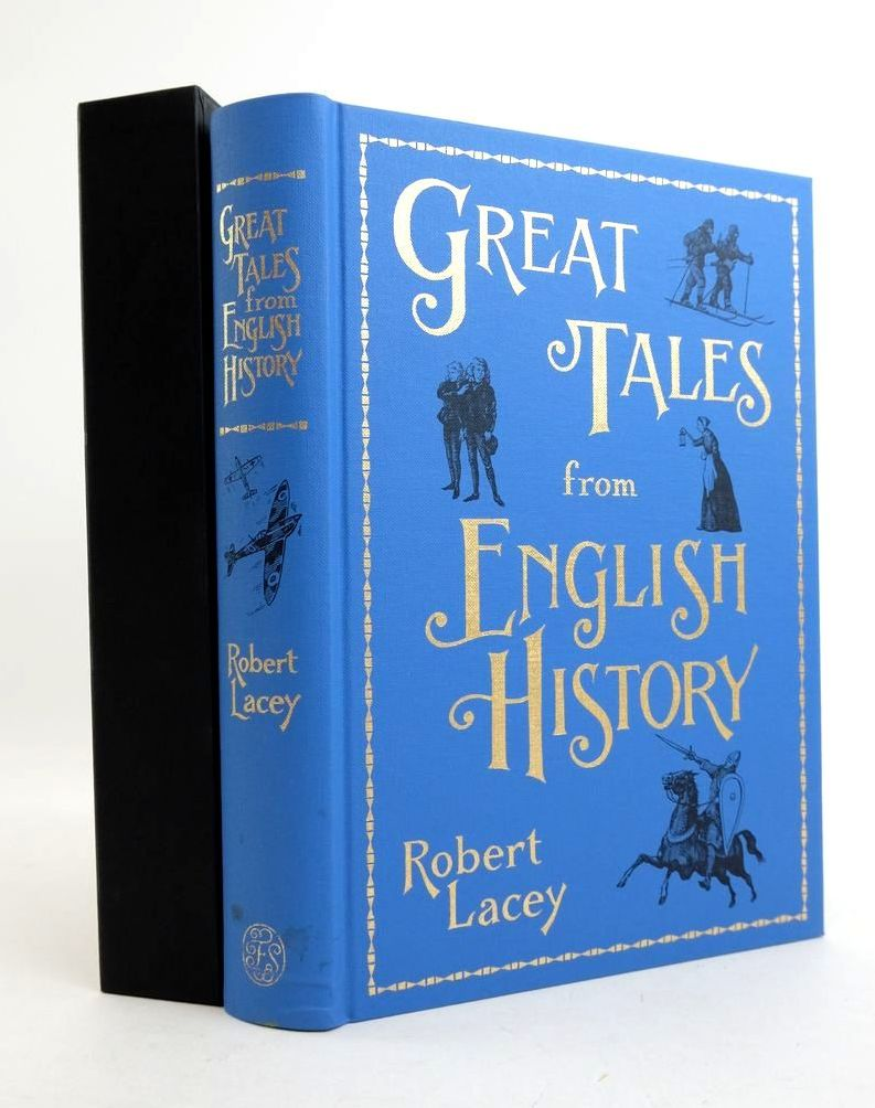 Photo of GREAT TALES FROM ENGLISH HISTORY written by Lacey, Robert published by Folio Society (STOCK CODE: 1822083)  for sale by Stella & Rose's Books