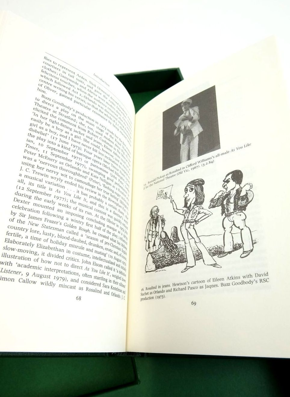 Photo of AS YOU LIKE IT (THE LETTERPRESS SHAKESPEARE) written by Shakespeare, William Brissenden, Alan published by Folio Society (STOCK CODE: 1822145)  for sale by Stella & Rose's Books