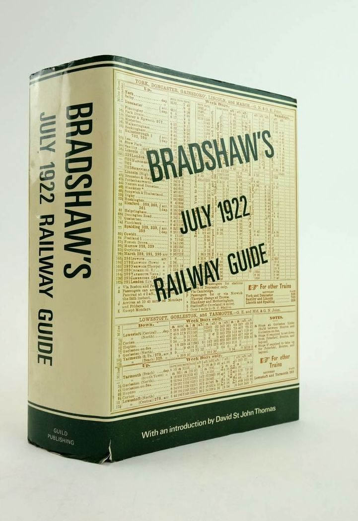 Photo of BRADSHAW'S JULY 1922 RAILWAY GUIDE- Stock Number: 1822150