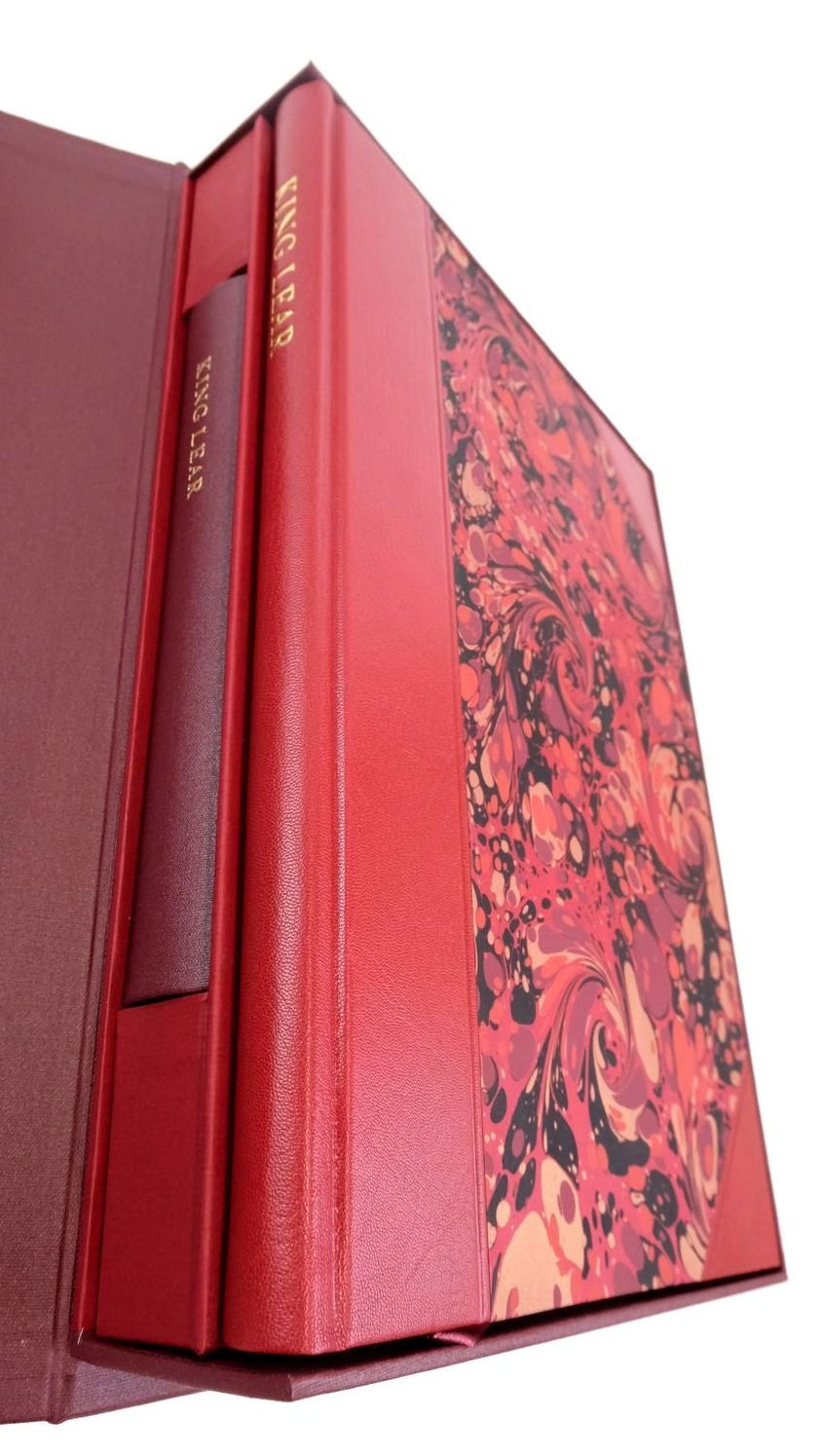 Photo of KING LEAR (THE LETTERPRESS SHAKESPEARE) written by Shakespeare, William Wells, Stanley published by Folio Society (STOCK CODE: 1822158)  for sale by Stella & Rose's Books