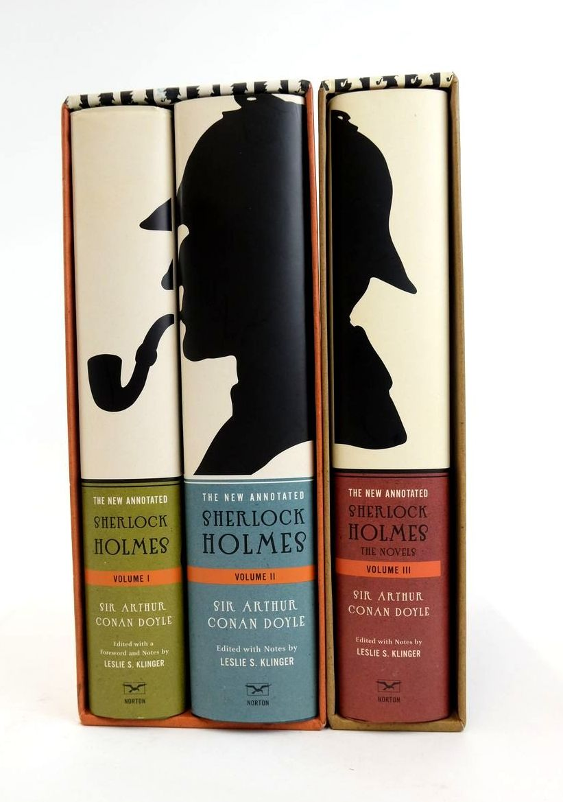 The New Annotated Sherlock Holmes (3 Volumes)