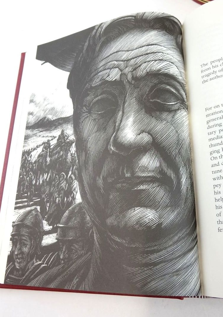 Photo of PLUTARCH LIVES written by Plutarch,  Clough, Arthur Hugh illustrated by Rooney, David published by Folio Society (STOCK CODE: 1822175)  for sale by Stella & Rose's Books
