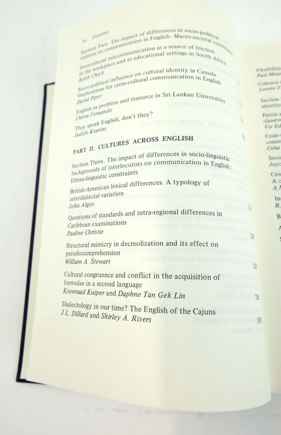 Photo of ENGLISH ACROSS CULTURES CULTURES ACROSS ENGLISH written by Garcia, Ofelia Otheguy, Ricardo published by Mouton De Gruyter (STOCK CODE: 1822178)  for sale by Stella & Rose's Books