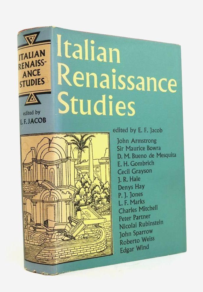 Photo of ITALIAN RENAISSANCE STUDIES- Stock Number: 1822187