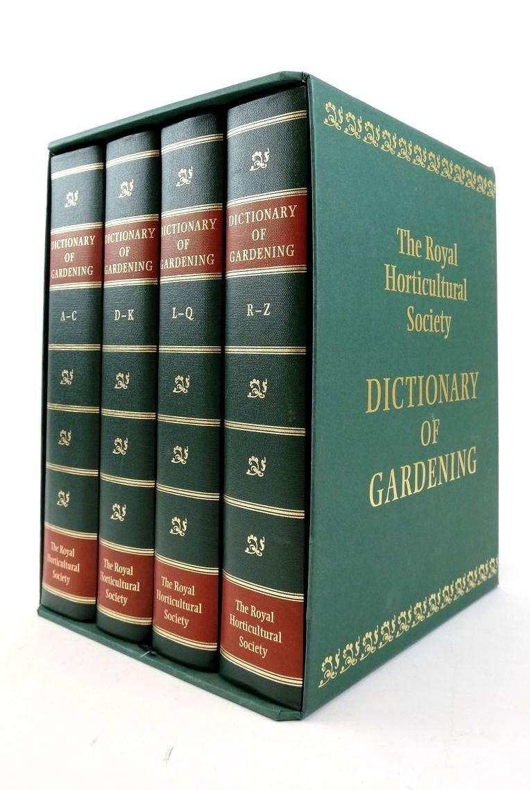 Photo of THE NEW ROYAL HORTICULTURAL SOCIETY DICTIONARY OF GARDENING (4 VOLUMES)- Stock Number: 1822265