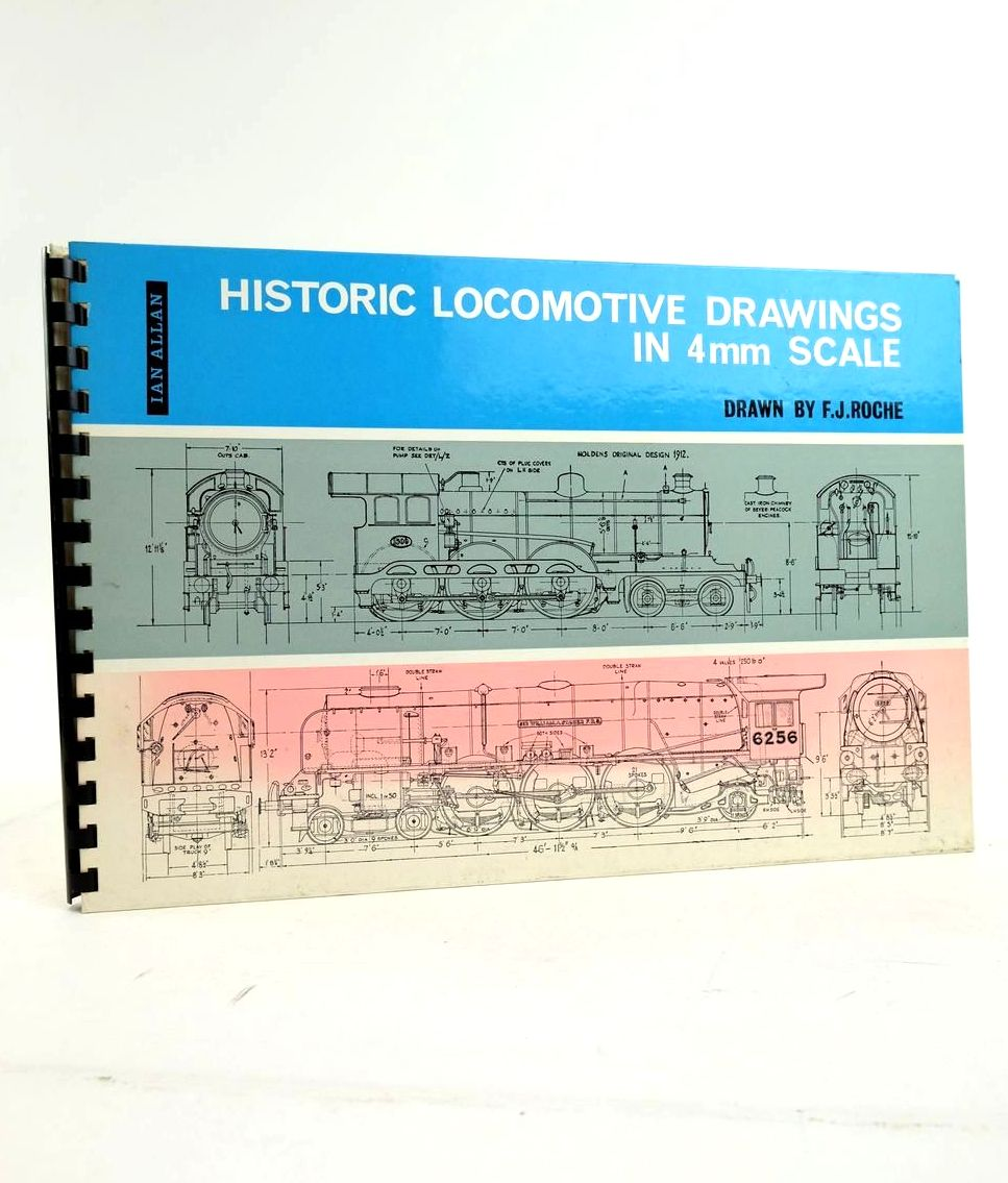 Photo of HISTORIC LOCOMOTIVE DRAWINGS IN 4MM SCALE- Stock Number: 1822278