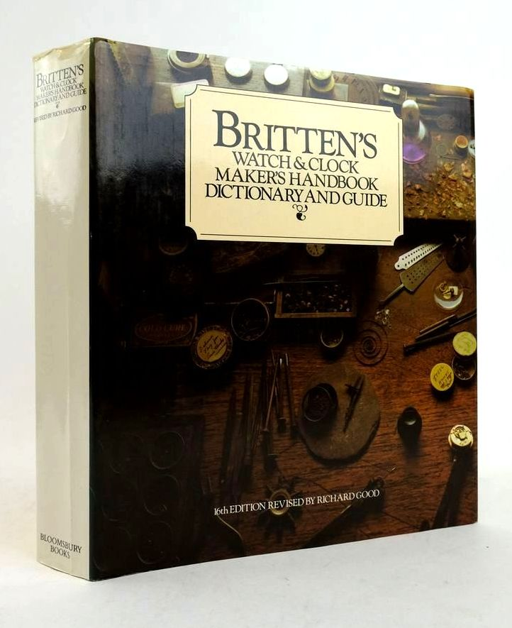 Photo of BRITTEN'S WATCH & CLOCK MAKER'S HANDBOOK DICTIONARY AND GUIDE- Stock Number: 1822401