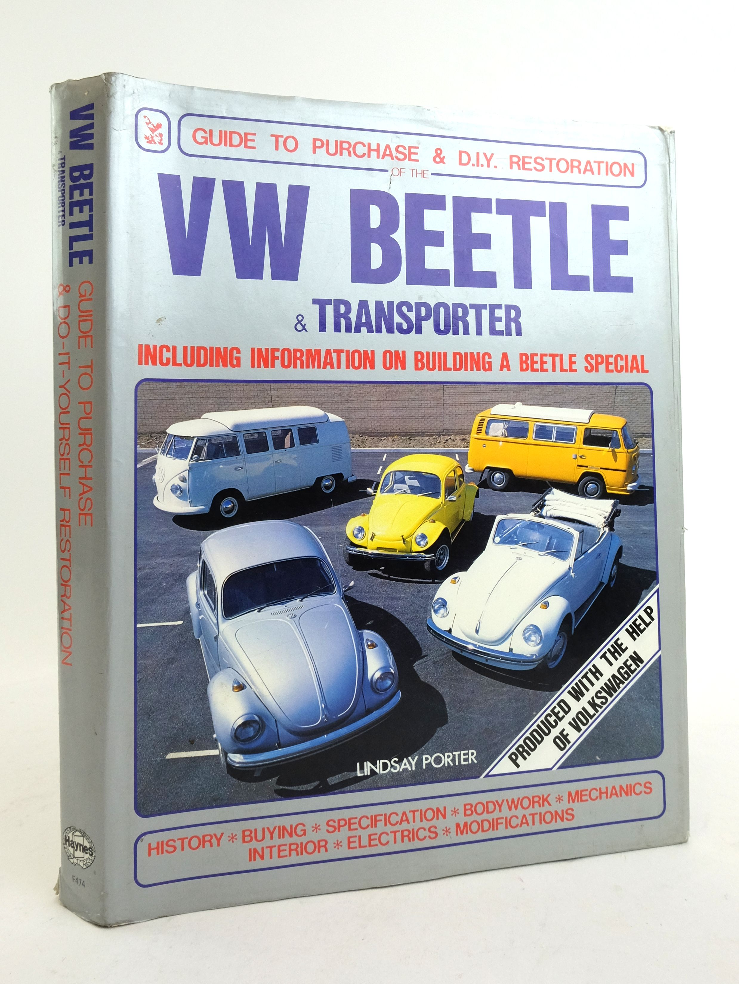 Photo of VW BEETLE & TRANSPORTER: GUIDE TO PURCHASE & D.I.Y. RESTORATION- Stock Number: 1822464