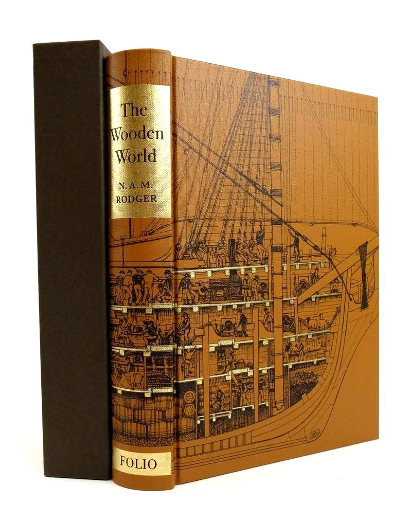 Photo of THE WOODEN WORLD: AN ANATOMY OF THE GEORGIAN NAVY- Stock Number: 1822530