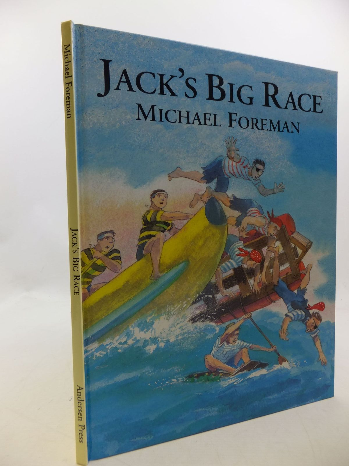 Photo of JACK'S BIG RACE written by Foreman, Michael illustrated by Foreman, Michael published by Andersen Press (STOCK CODE: 2001078)  for sale by Stella & Rose's Books