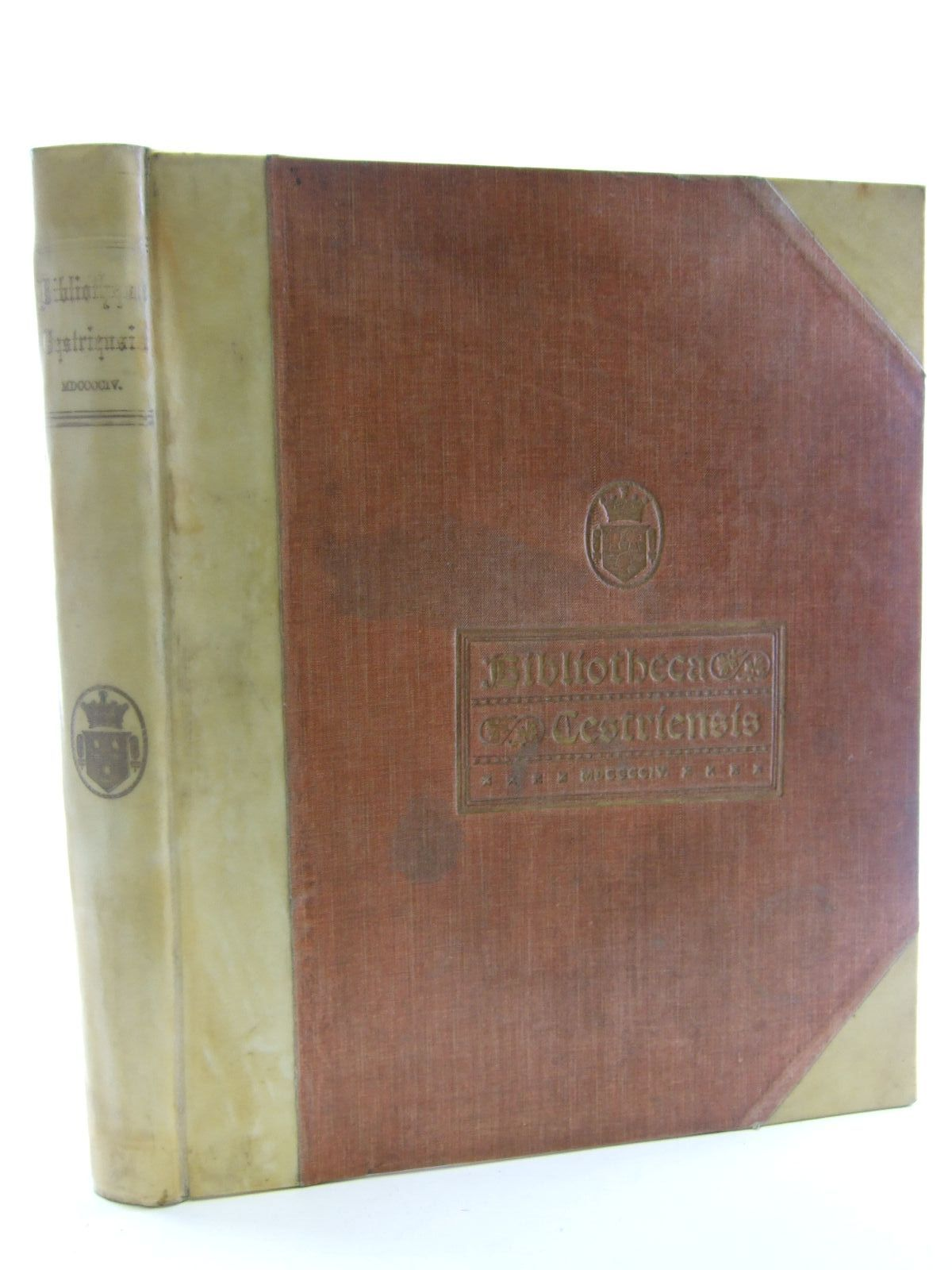 Photo of BIBLIOTHECA CESTRIENSIS written by Cooke, John H. published by Mackie & Co. Limited (STOCK CODE: 2106650)  for sale by Stella & Rose's Books