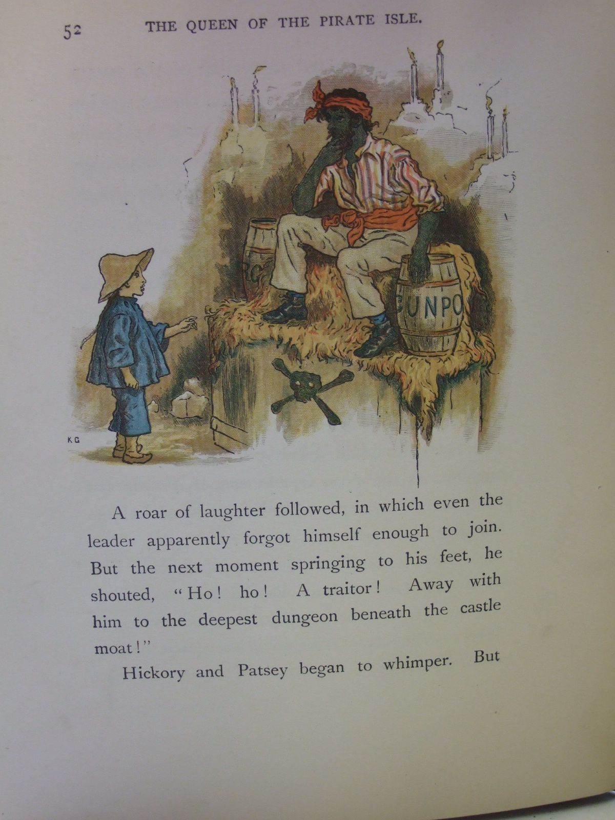 Photo of THE QUEEN OF THE PIRATE ISLE written by Harte, Bret illustrated by Greenaway, Kate published by Chatto & Windus (STOCK CODE: 2106919)  for sale by Stella & Rose's Books