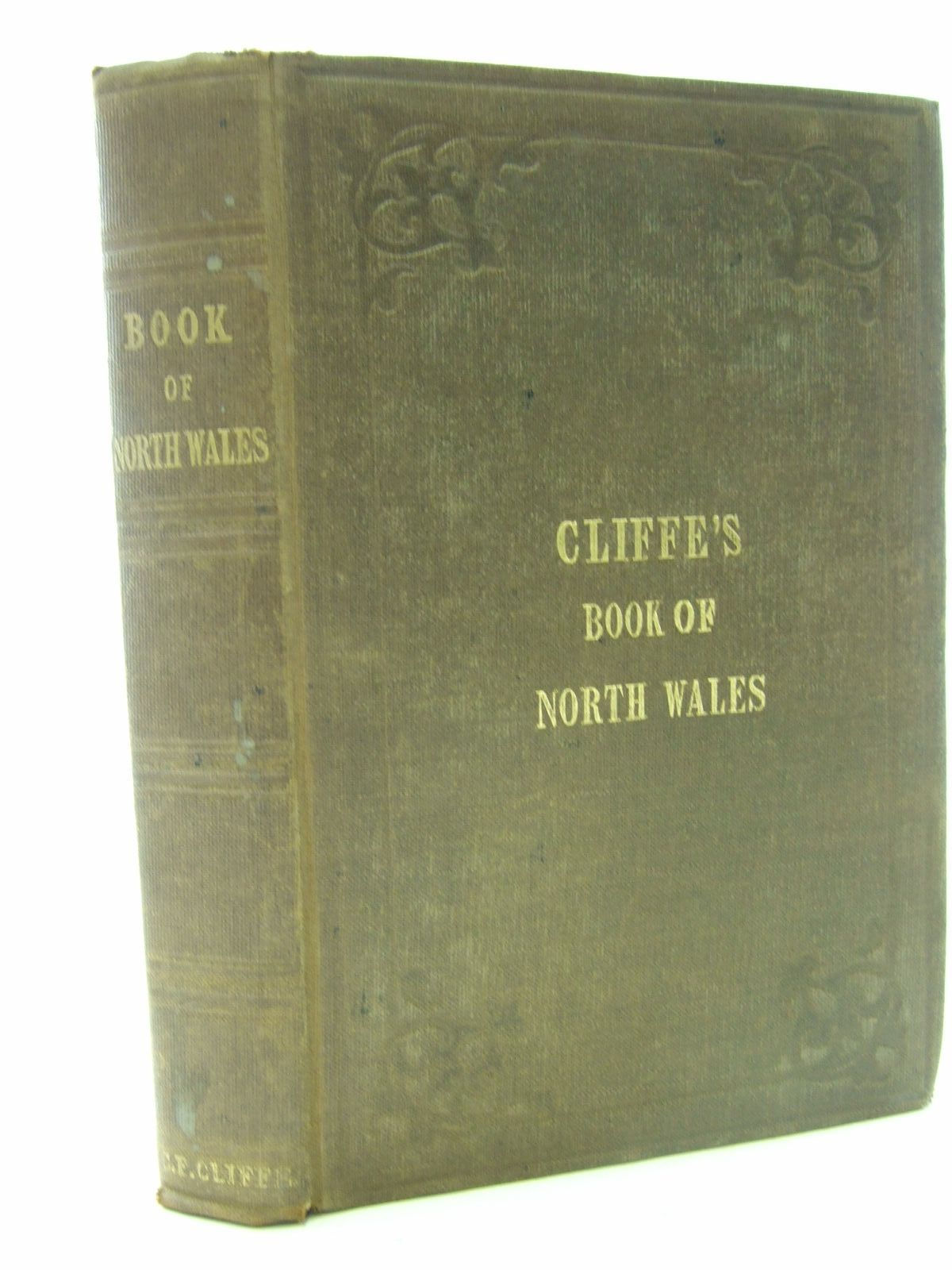 Photo of THE BOOK OF NORTH WALES written by Cliffe, Charles Frederick published by Hamilton, Adams & Co. (STOCK CODE: 2107060)  for sale by Stella & Rose's Books
