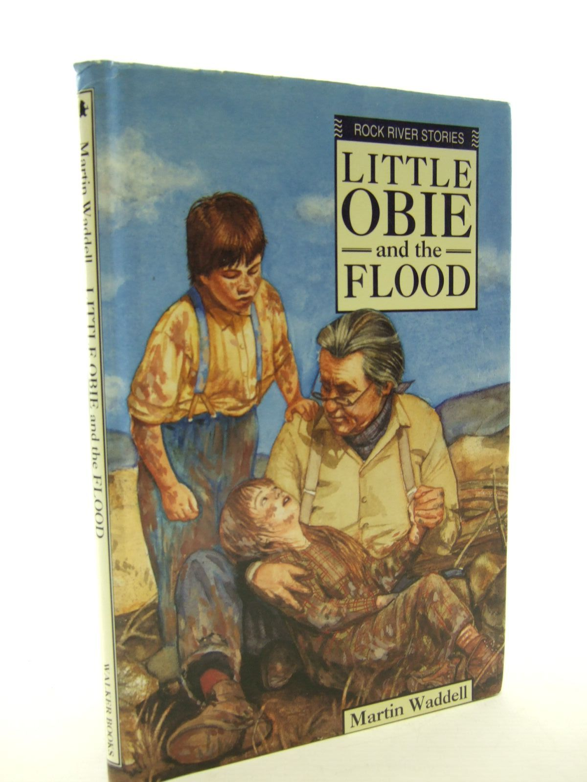 Photo of LITTLE OBIE AND THE FLOOD written by Waddell, Martin illustrated by Lennox, Elsie published by Walker Books (STOCK CODE: 2107169)  for sale by Stella & Rose's Books