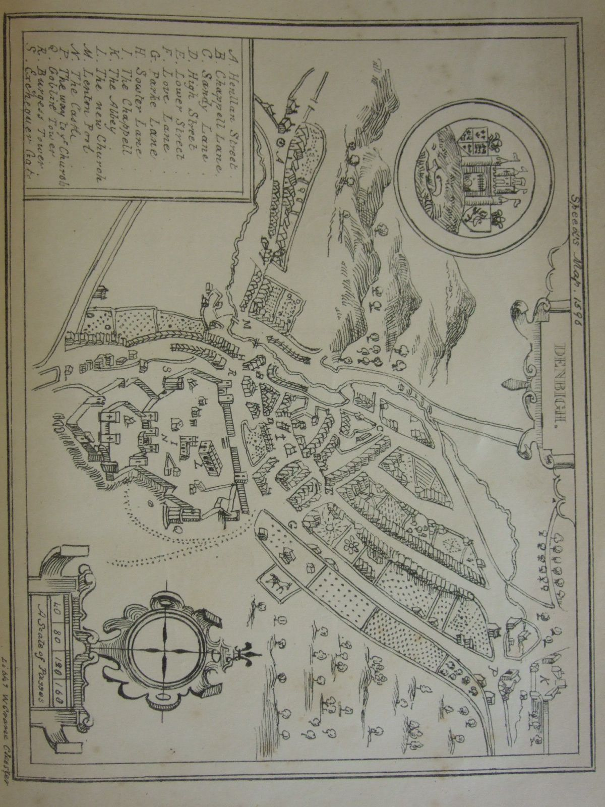Photo of AN ACCOUNT OF CASTLE AND TOWN OF DENBIGH written by Newcome, Richard published by Clwydian-Press (STOCK CODE: 2107246)  for sale by Stella & Rose's Books