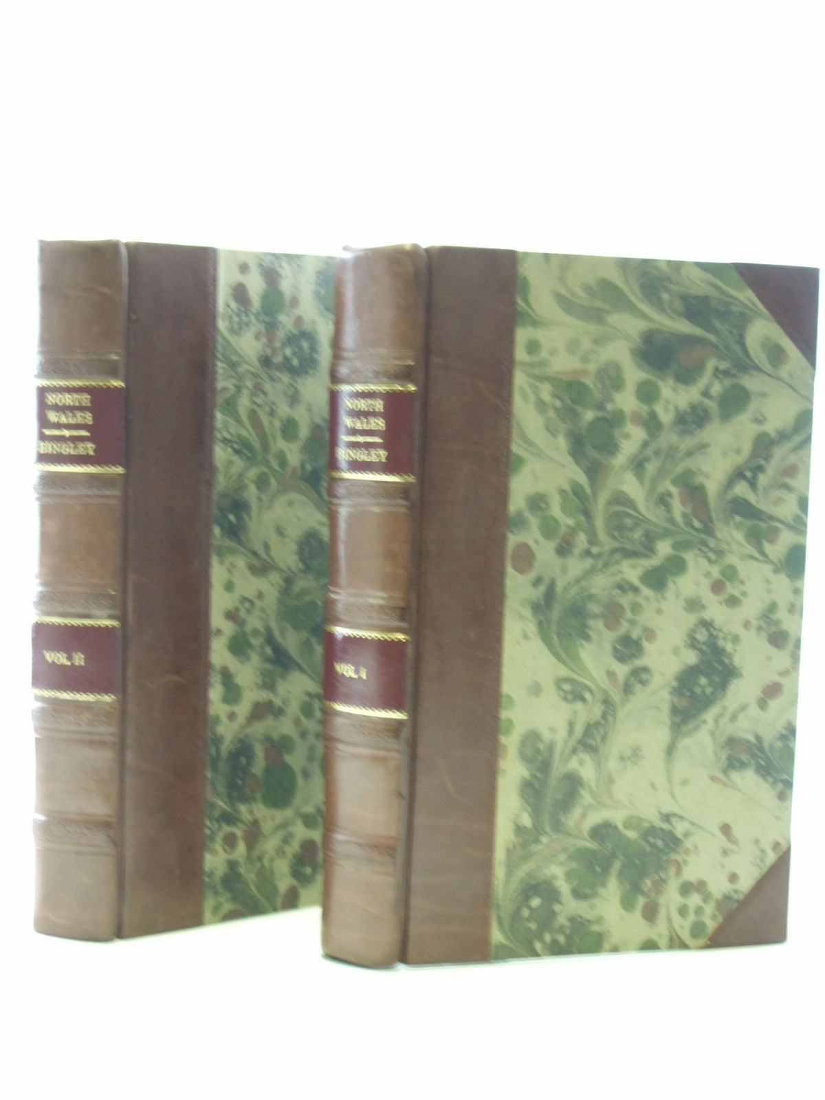 Photo of NORTH WALES INCLUDING ITS SCENERY, ANTIQUITIES, CUSTOMS (2 VOLS) written by Bingley, Rev. W. published by T.N. Longman And O. Rees (STOCK CODE: 2107254)  for sale by Stella & Rose's Books