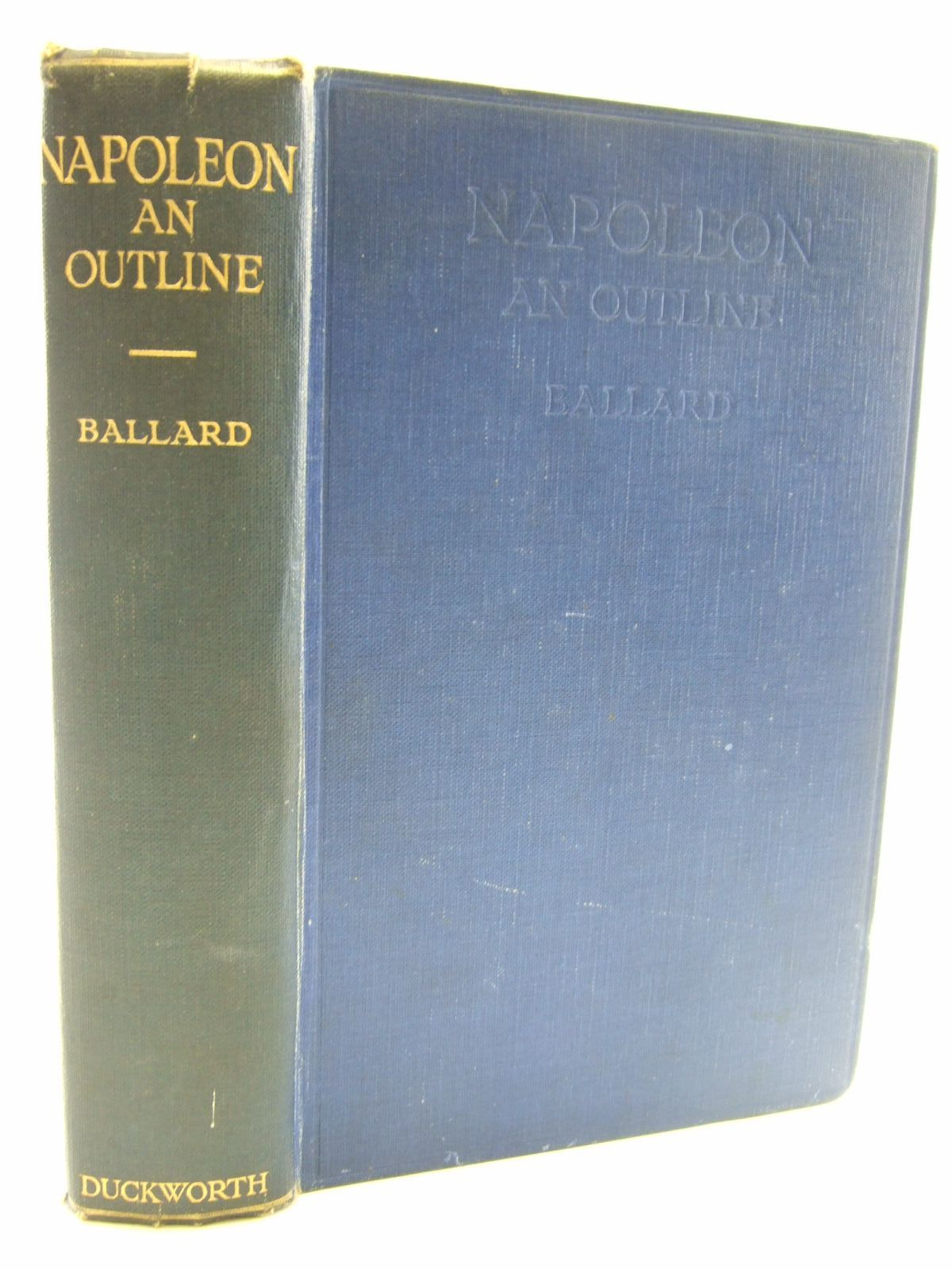 Photo of NAPOLEON AN OUTLINE- Stock Number: 2107278
