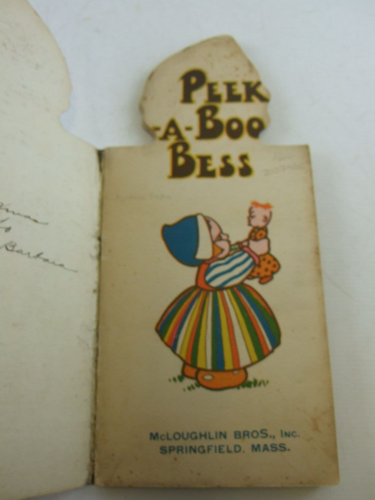 Photo of PEEK-A-BOO BESS written by Preston, Chloe illustrated by Preston, Chloe published by McLoughlin Bros. (STOCK CODE: 2107906)  for sale by Stella & Rose's Books