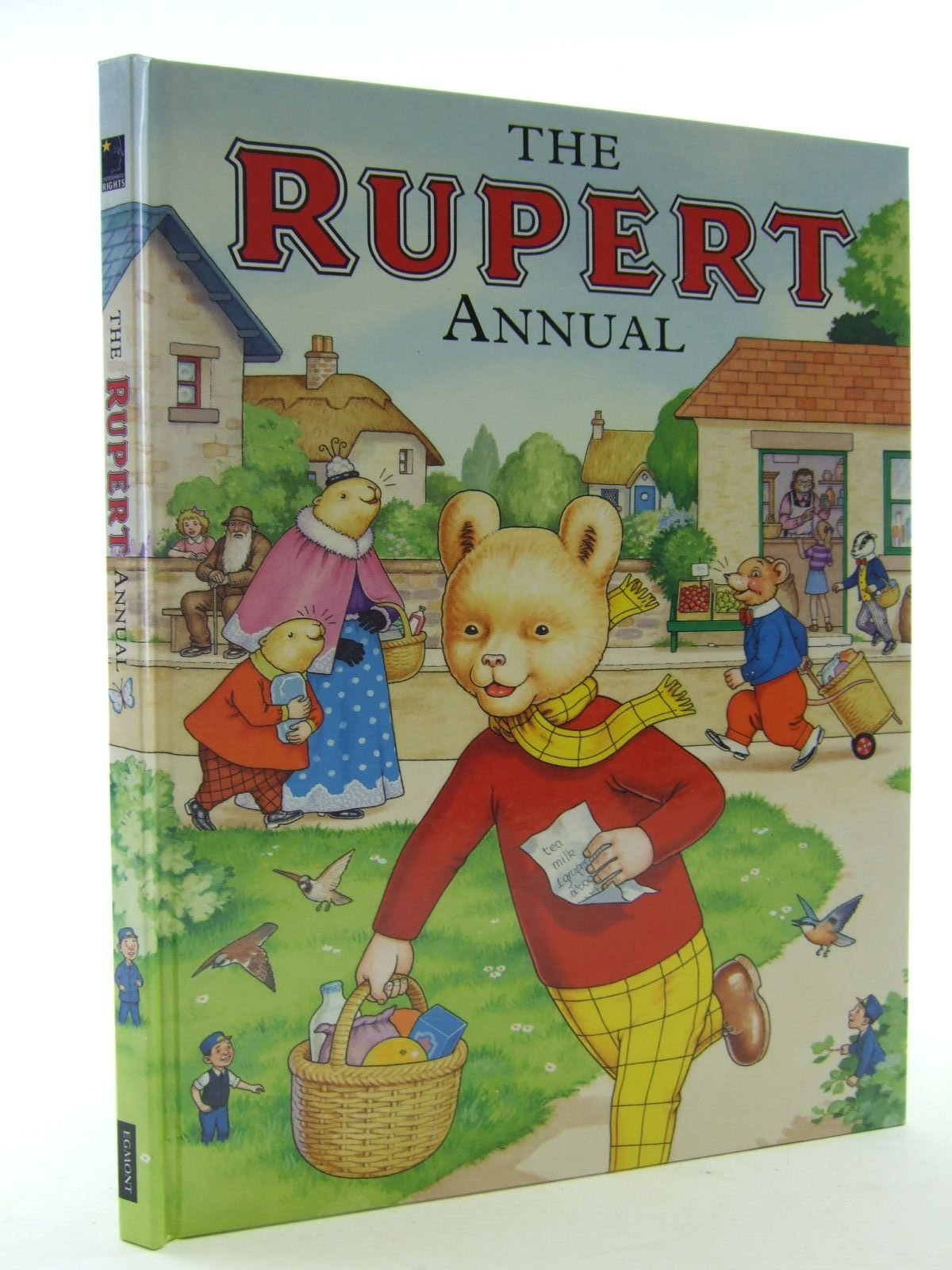 Photo of RUPERT ANNUAL 2007 written by Henderson, James illustrated by Harrold, John published by Egmont Uk Limited (STOCK CODE: 2108196)  for sale by Stella & Rose's Books