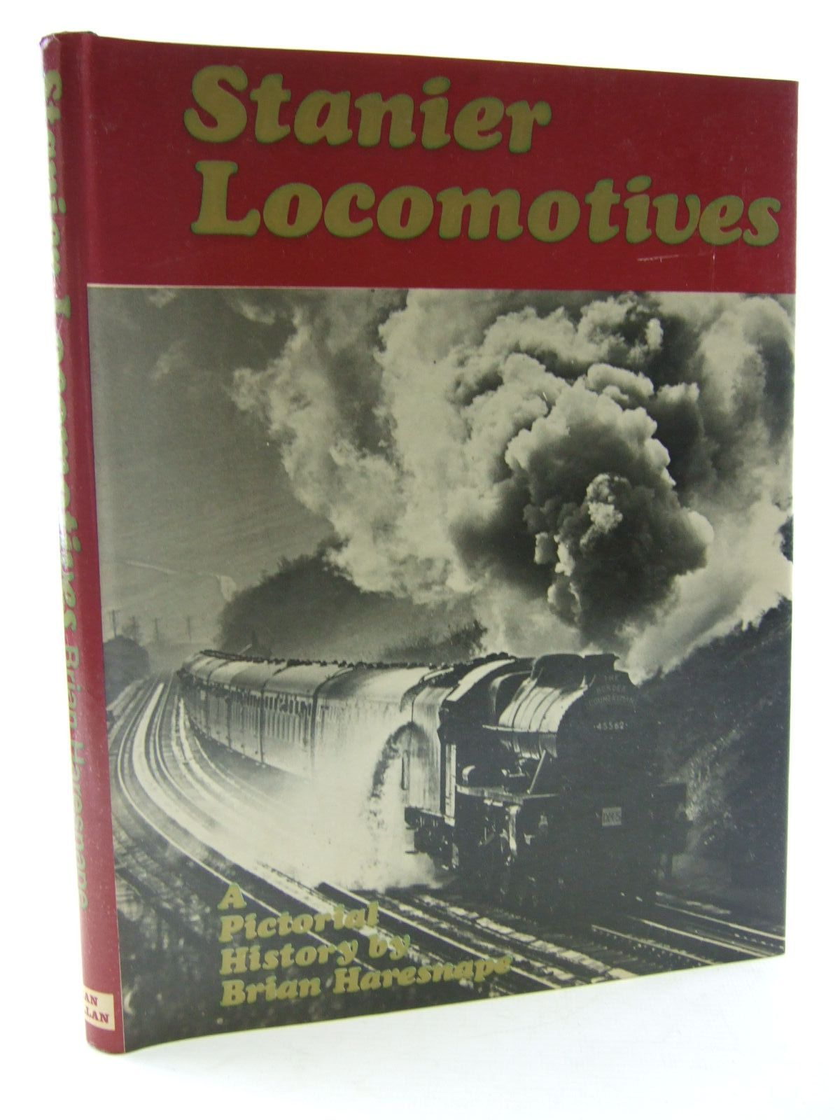 Photo of STANIER LOCOMOTIVES written by Haresnape, Brian published by Ian Allan (STOCK CODE: 2108333)  for sale by Stella & Rose's Books