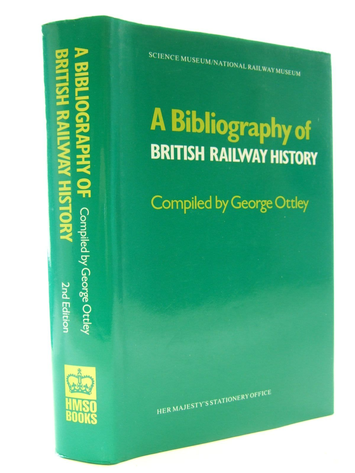 Photo of A BIBLIOGRAPHY OF BRITISH RAILWAY HISTORY- Stock Number: 2108360