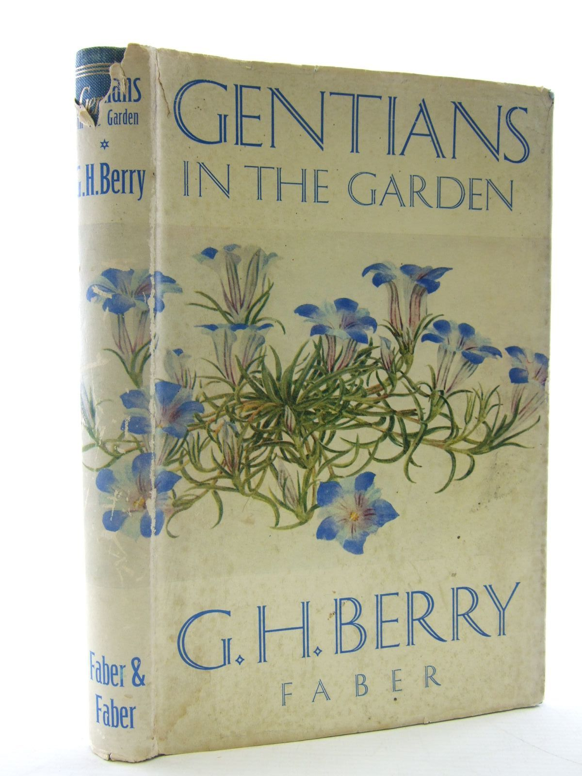 Photo of GENTIANS IN THE GARDEN written by Berry, Grimshaw Heyes illustrated by Earle, H.M.
