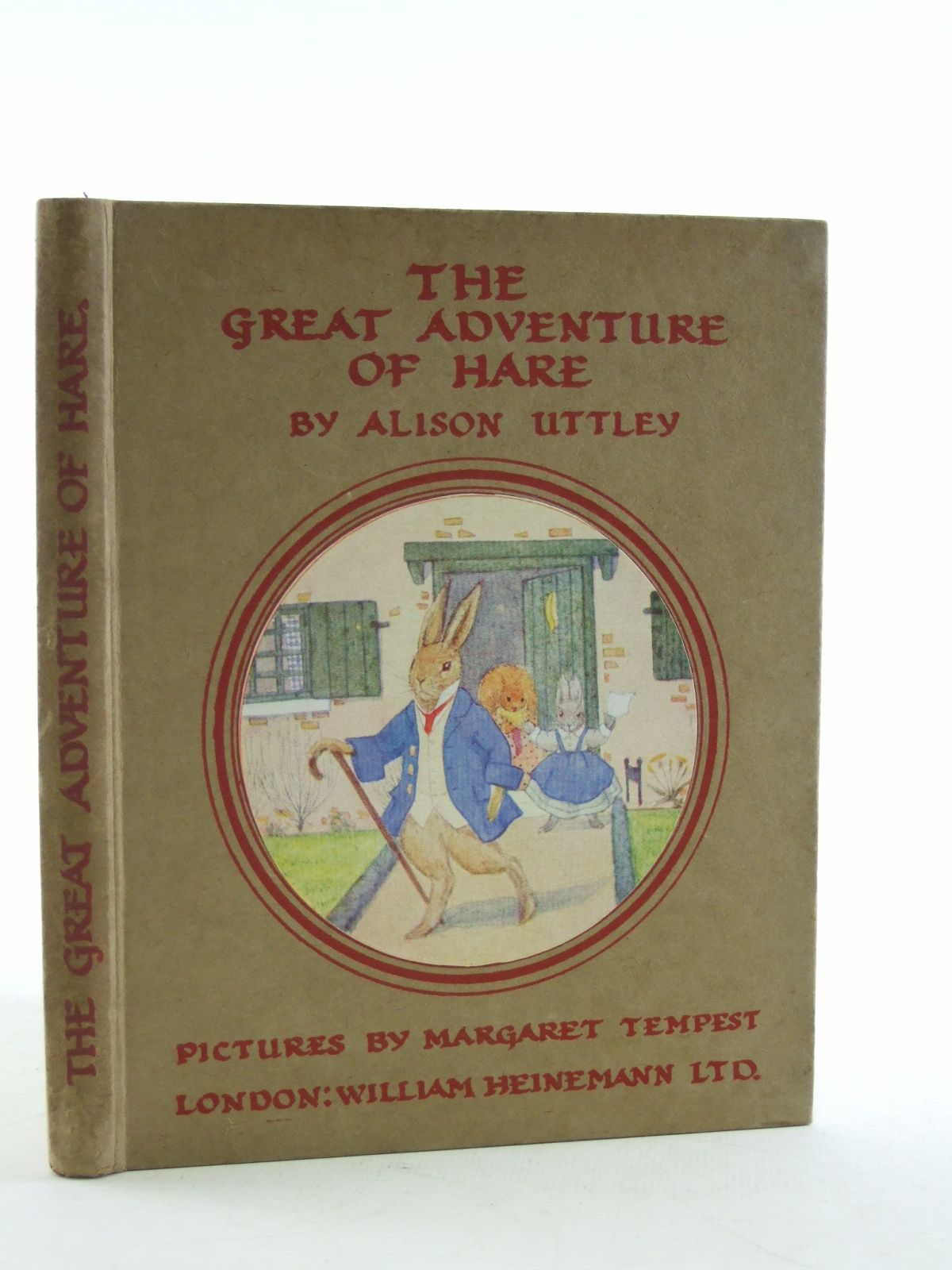 Photo of THE GREAT ADVENTURE OF HARE written by Uttley, Alison illustrated by Tempest, Margaret published by William Heinemann Ltd. (STOCK CODE: 2108591)  for sale by Stella & Rose's Books