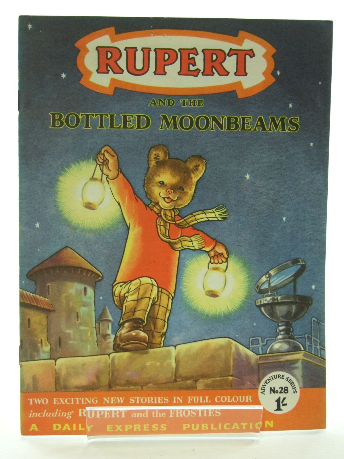 Photo of RUPERT ADVENTURE SERIES No. 28 - RUPERT AND THE BOTTLED MOONBEAMS written by Bestall, Alfred published by Daily Express (STOCK CODE: 2108727)  for sale by Stella & Rose's Books