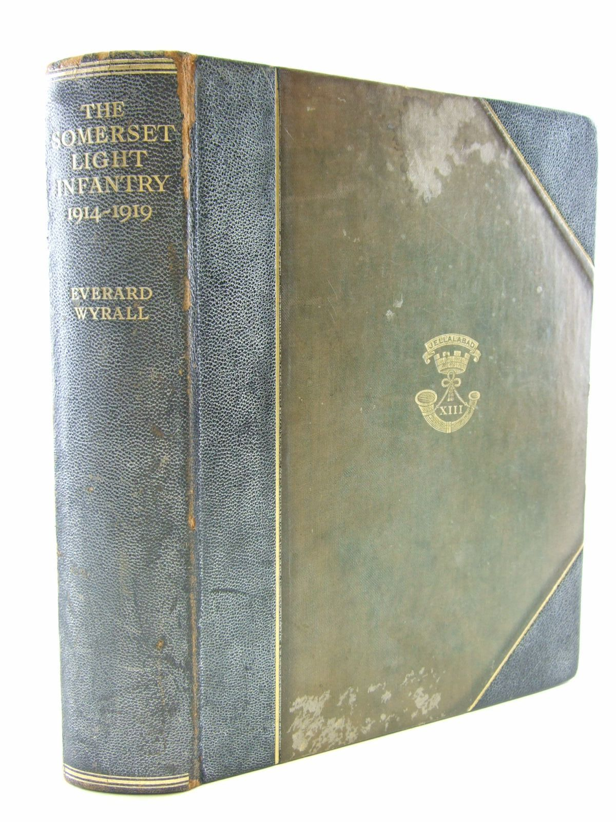 Photo of THE HISTORY OF THE SOMERSET LIGHT INFANTRY (PRINCE ALBERT'S) 1914-1919- Stock Number: 2109024