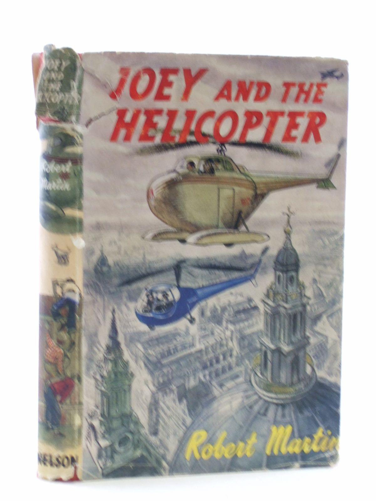 Photo of JOEY AND THE HELICOPTER- Stock Number: 2109085