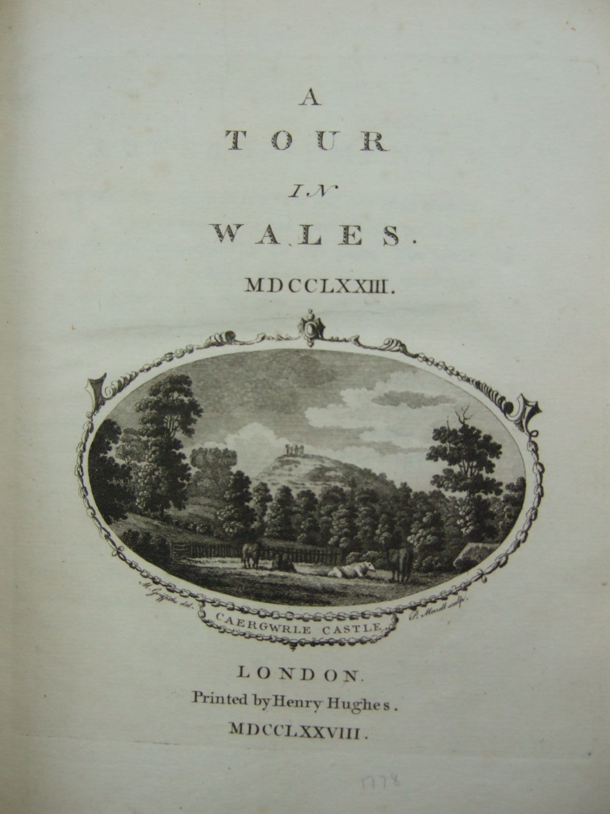 Photo of A TOUR IN WALES (STOCK CODE: 2109474)  for sale by Stella & Rose's Books