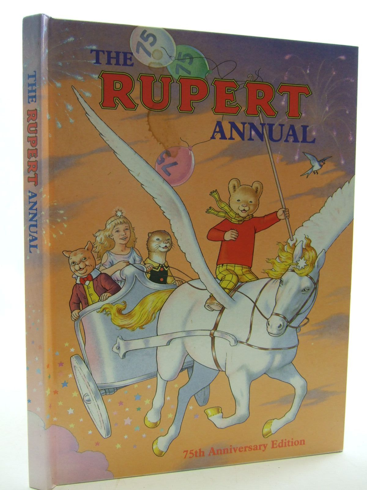 Photo of RUPERT ANNUAL 1995 written by Robinson, Ian illustrated by Harrold, John published by Pedigree Books Limited (STOCK CODE: 2109518)  for sale by Stella & Rose's Books