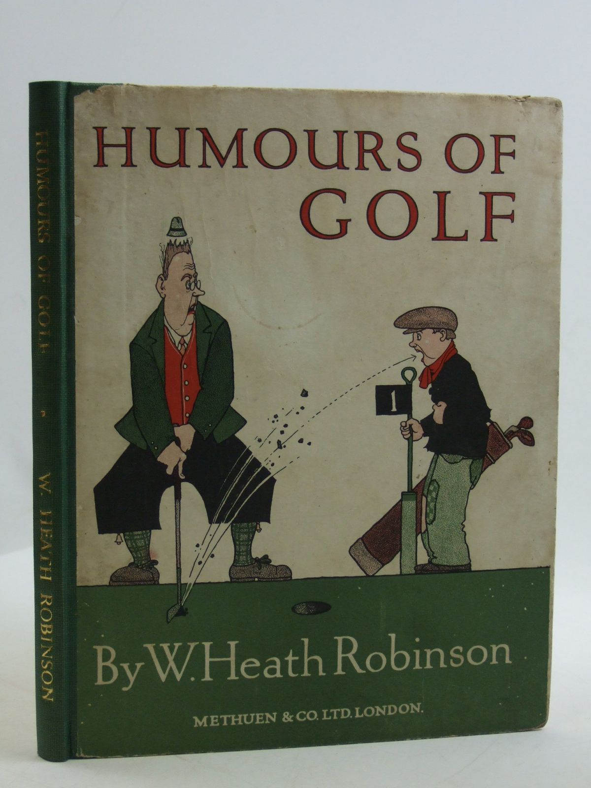 Photo of HUMOURS OF GOLF written by Robinson, W. Heath illustrated by Robinson, W. Heath published by Methuen & Co. Ltd. (STOCK CODE: 2109598)  for sale by Stella & Rose's Books