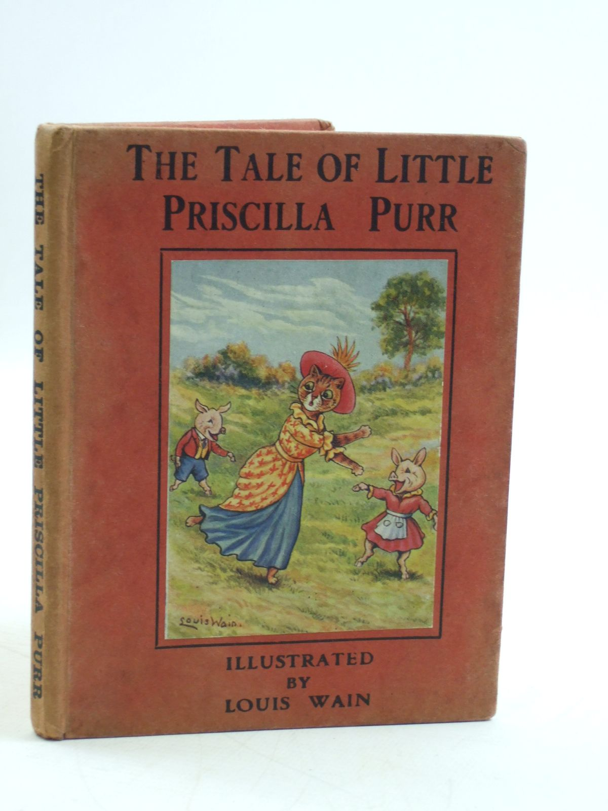 Photo of THE TALE OF PRISCILLA PURR written by Rutley, Cecily M. illustrated by Wain, Louis published by Valentine & Sons Ltd. (STOCK CODE: 2109601)  for sale by Stella & Rose's Books