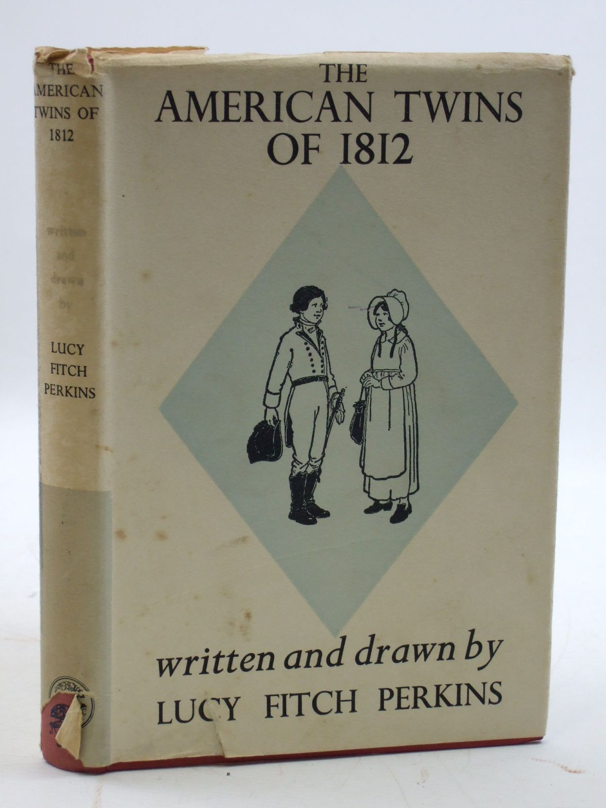 Photo of THE AMERICAN TWINS OF 1812 written by Perkins, Lucy Fitch illustrated by Perkins, Lucy Fitch published by Jonathan Cape (STOCK CODE: 2109950)  for sale by Stella & Rose's Books