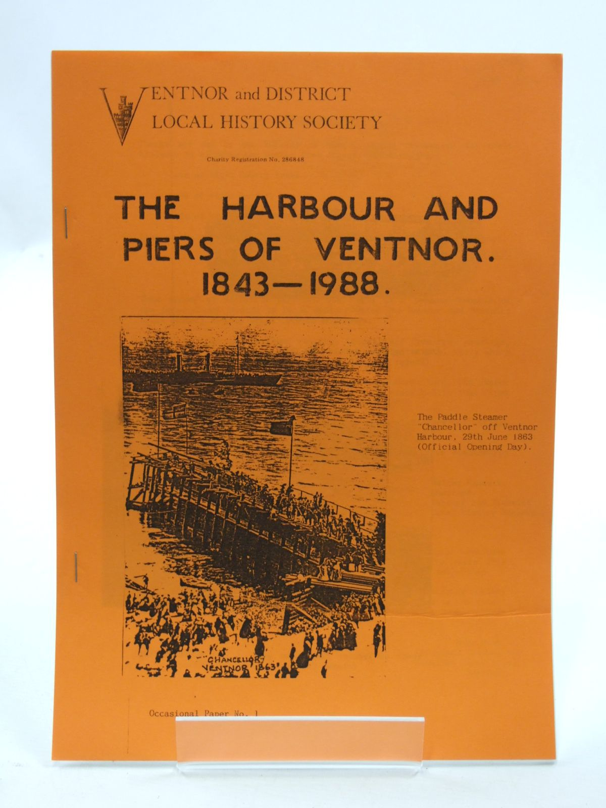 Photo of THE HARBOUR AND PIERS OF VENTNOR 1843-1988- Stock Number: 2109958