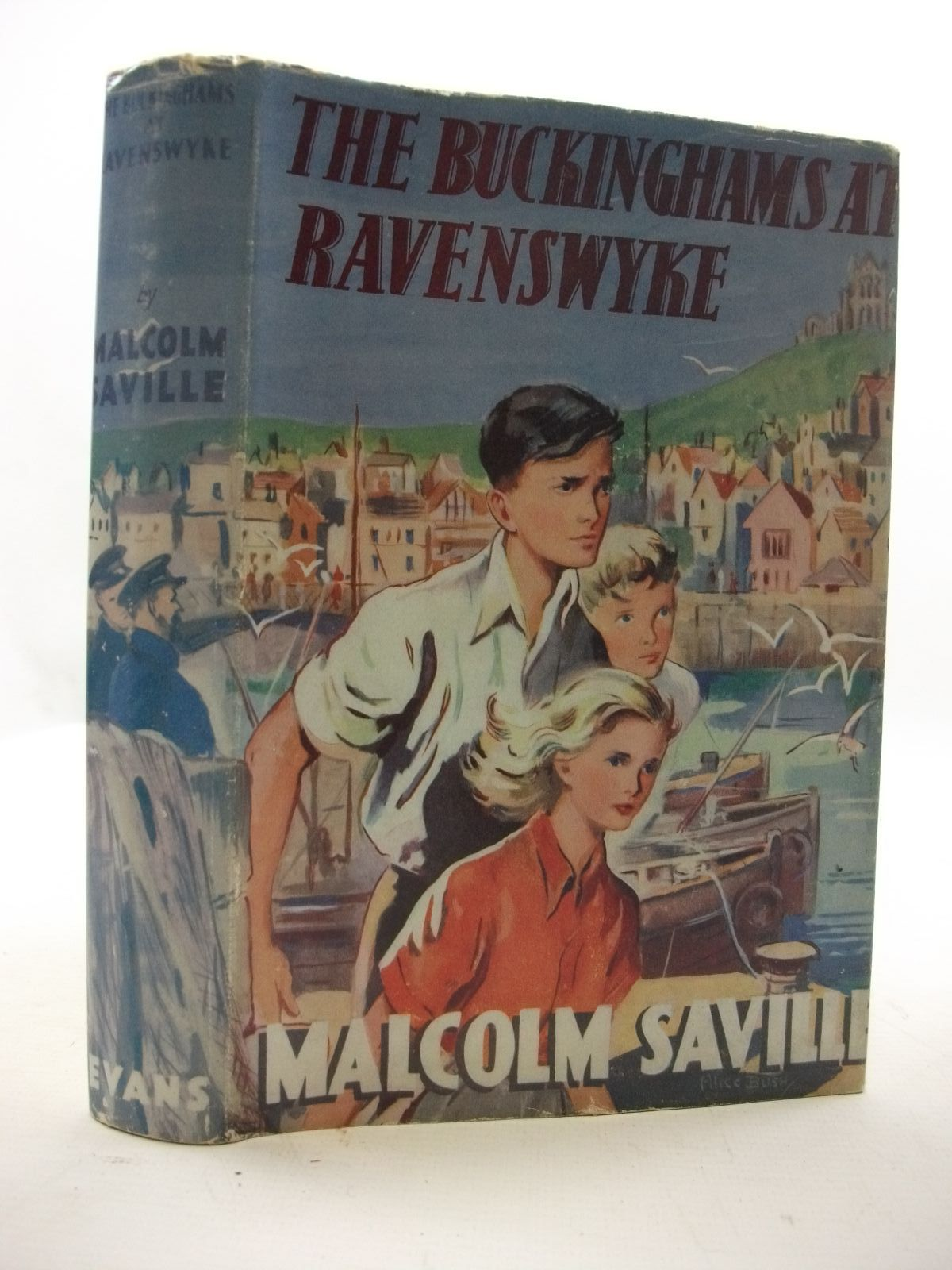 Photo of THE BUCKINGHAMS AT RAVENSWYKE written by Saville, Malcolm illustrated by Bush, Alice published by Evans Brothers Limited (STOCK CODE: 2110045)  for sale by Stella & Rose's Books