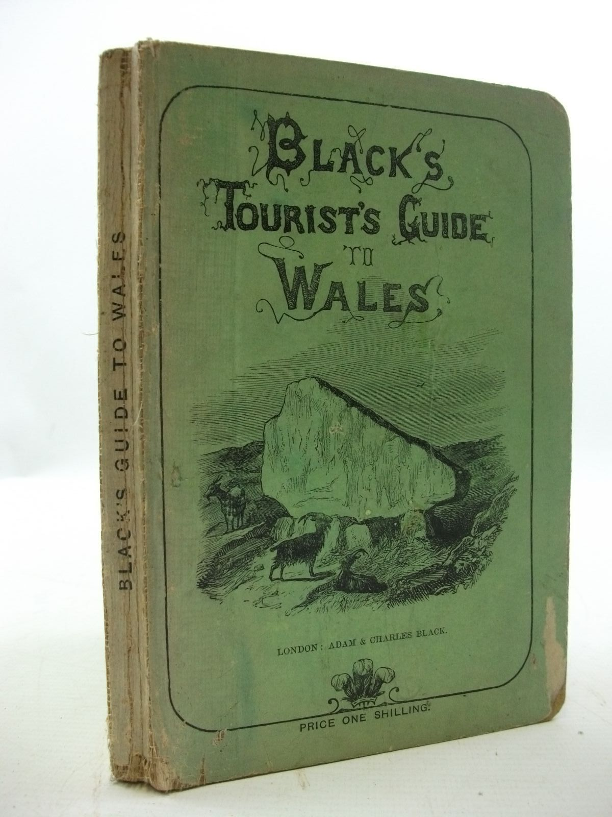 Photo of BLACK'S TOURIST'S GUIDE TO WALES published by Adam & Charles Black (STOCK CODE: 2110058)  for sale by Stella & Rose's Books