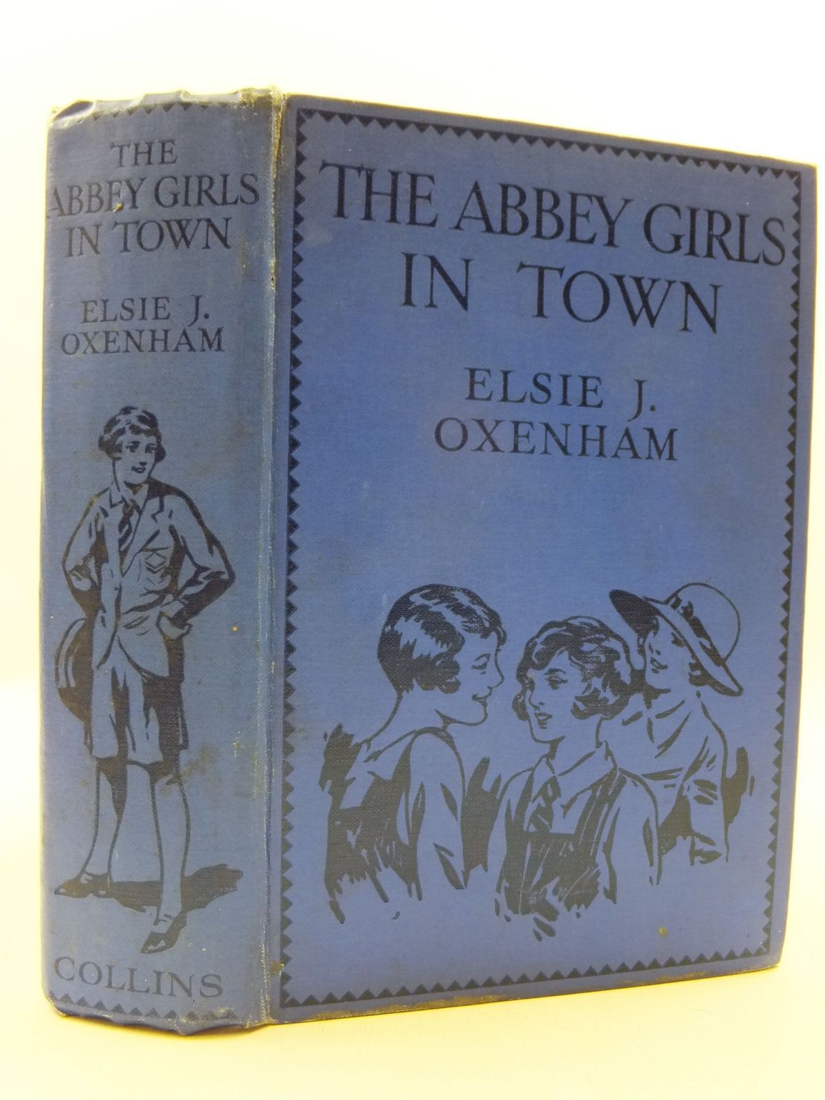 Photo of THE ABBEY GIRLS IN TOWN written by Oxenham, Elsie J. illustrated by Petherick, Rosa C. published by Collins Clear-Type Press (STOCK CODE: 2110274)  for sale by Stella & Rose's Books