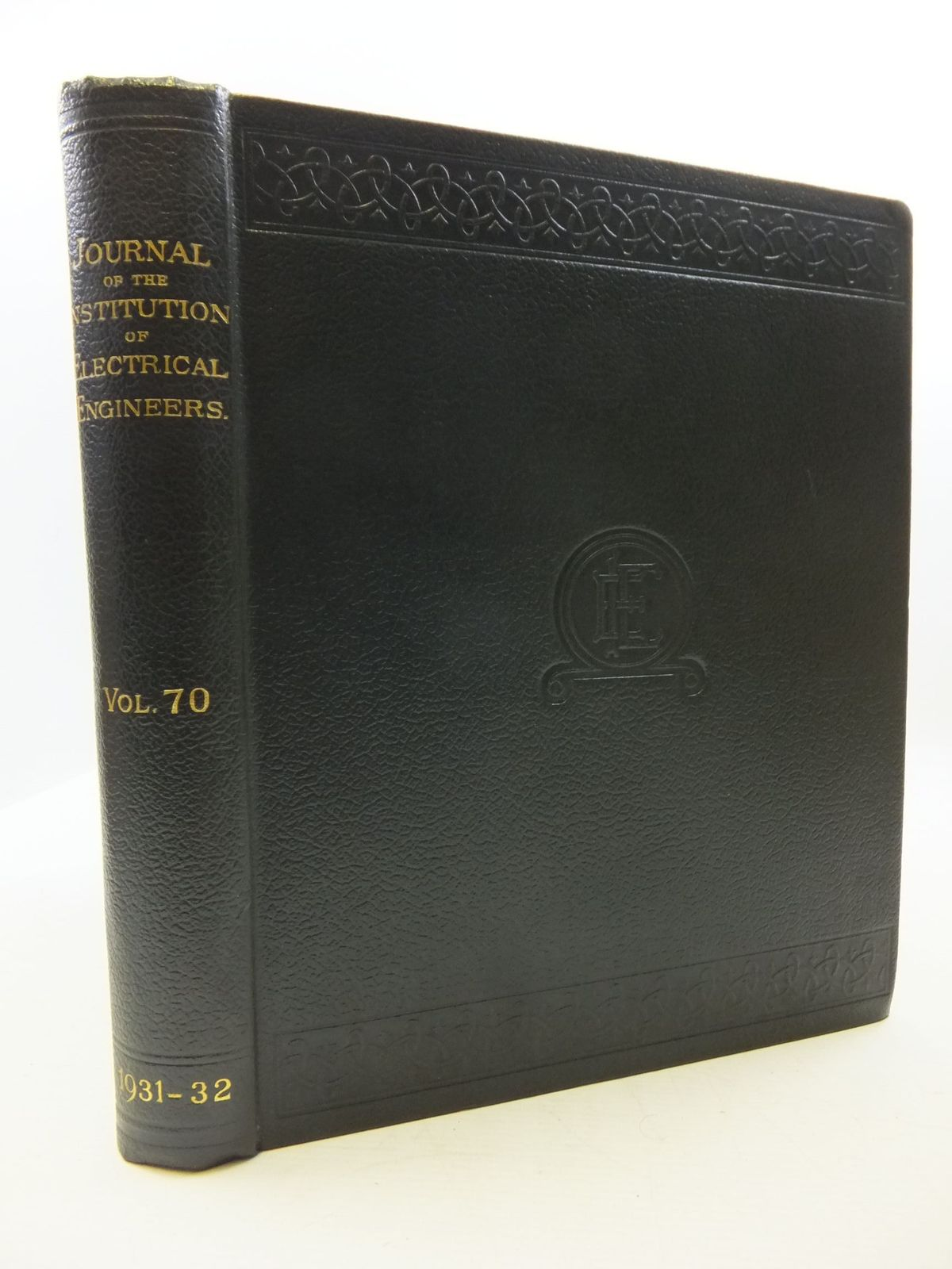 Photo of THE JOURNAL OF THE INSTITUTION OF ELECTRICAL ENGINEERS VOL. 70- Stock Number: 2110417