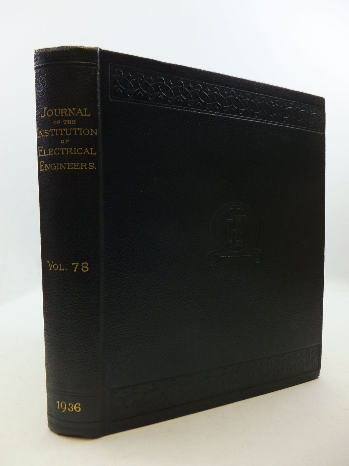 Photo of THE JOURNAL OF THE INSTITUTION OF ELECTRICAL ENGINEERS VOL. 78- Stock Number: 2110422