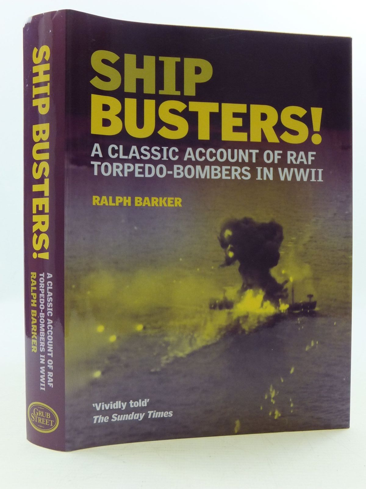 Photo of SHIP BUSTERS! written by Barker, Ralph published by Grub Street (STOCK CODE: 2110443)  for sale by Stella & Rose's Books