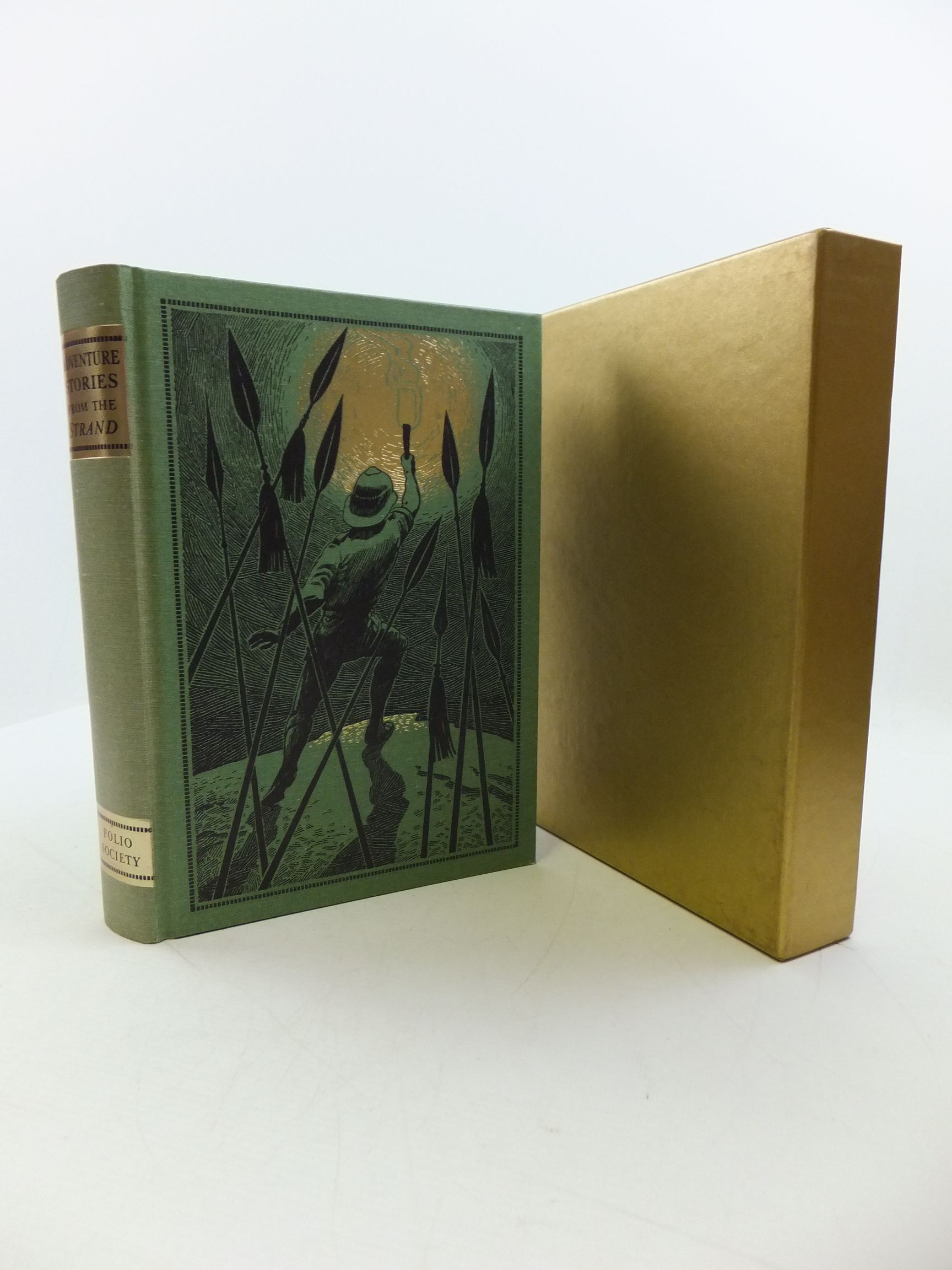 Photo of ADVENTURE STORIES FROM THE STRAND written by Beare, Geraldine illustrated by Eccles, David published by Folio Society (STOCK CODE: 2110461)  for sale by Stella & Rose's Books