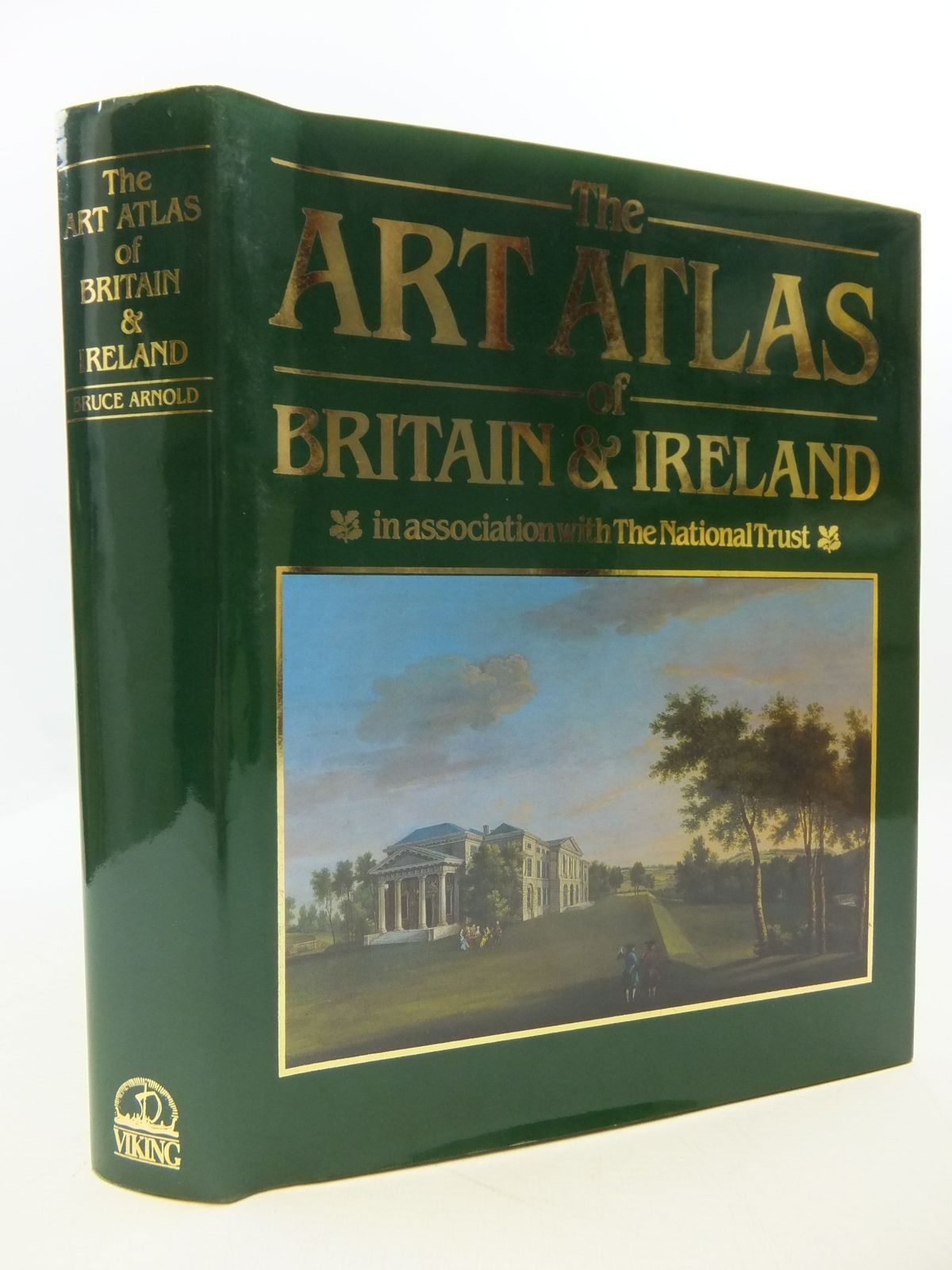 Photo of THE ART ATLAS OF BRITAIN & IRELAND written by Arnold, Bruce published by Viking (STOCK CODE: 2110495)  for sale by Stella & Rose's Books