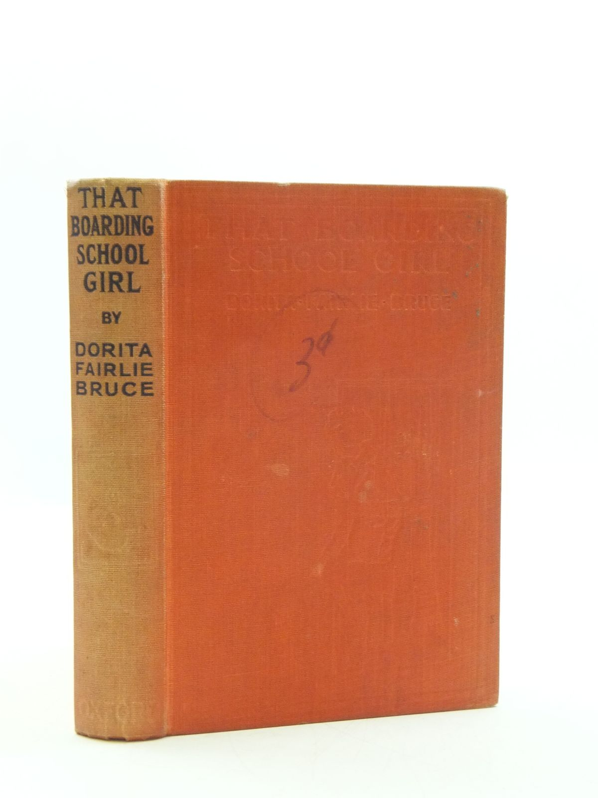 Photo of THAT BOARDING-SCHOOL GIRL written by Bruce, Dorita Fairlie illustrated by Brock, R.H. published by Oxford University Press, Humphrey Milford (STOCK CODE: 2110595)  for sale by Stella & Rose's Books