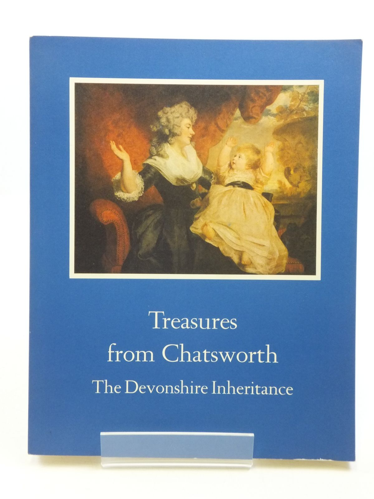 Photo of TREASURES FROM CHATSWORTH THE DEVONSHIRE INHERITANCE written by Blunt, Anthony published by International Exhibitions Foundation (STOCK CODE: 2110911)  for sale by Stella & Rose's Books