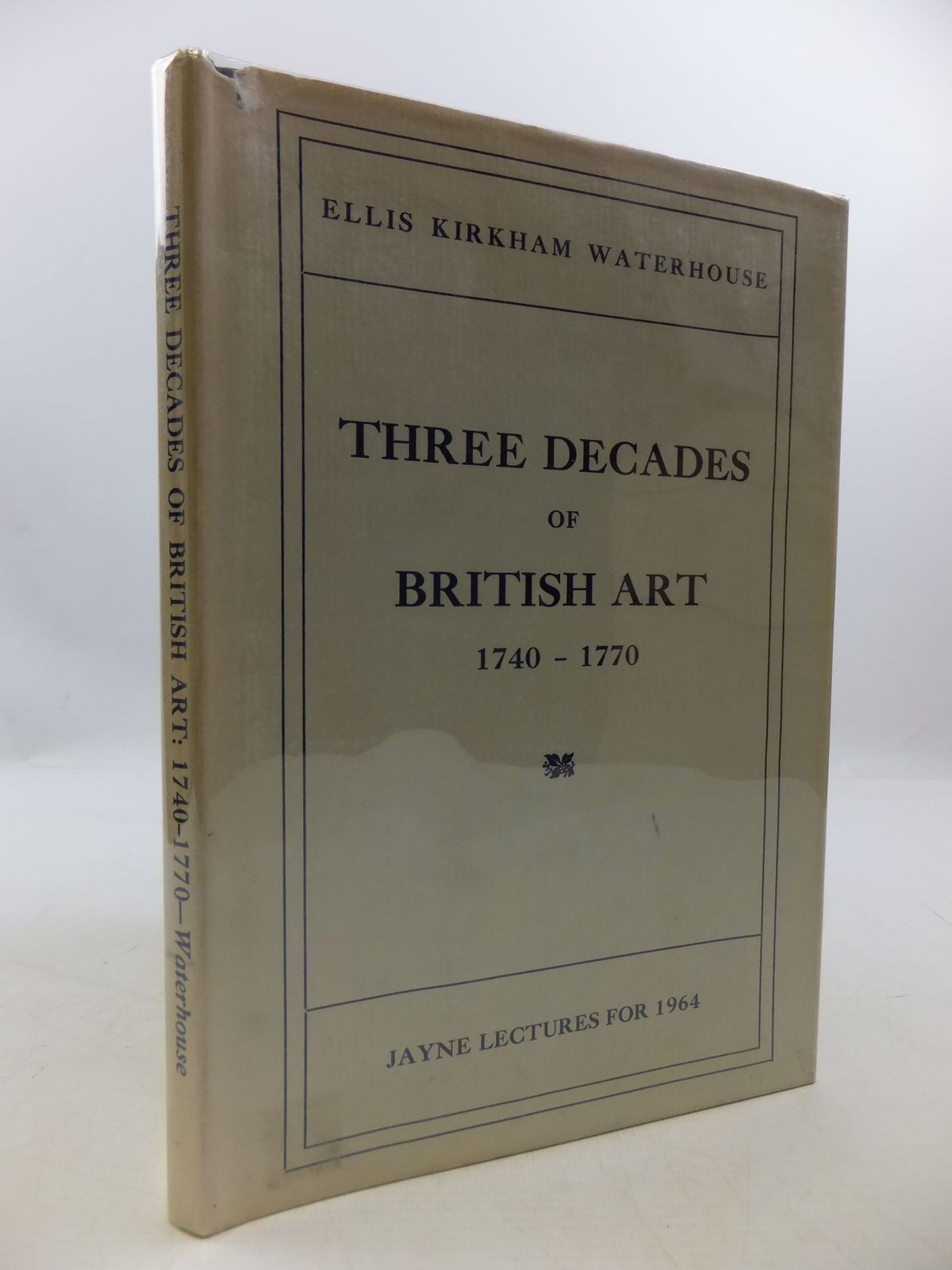 Photo of THREE DECADES OF BRITISH ART: 1740-1770 written by Waterhouse, Ellis Kirkham published by The American Philosophical Society (STOCK CODE: 2111198)  for sale by Stella & Rose's Books