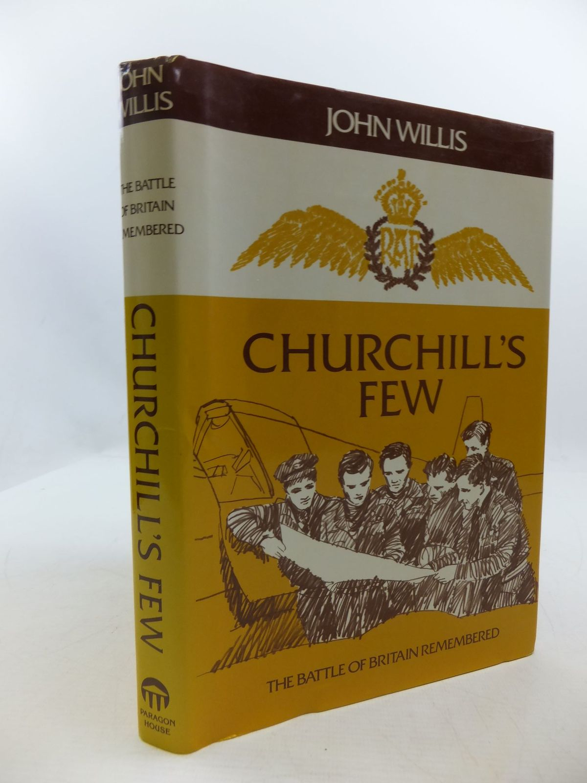 Photo of CHURCHILL'S FEW THE BATTLE OF BRITAIN REMEMBERED written by Willis, John published by Paragon House (STOCK CODE: 2111223)  for sale by Stella & Rose's Books