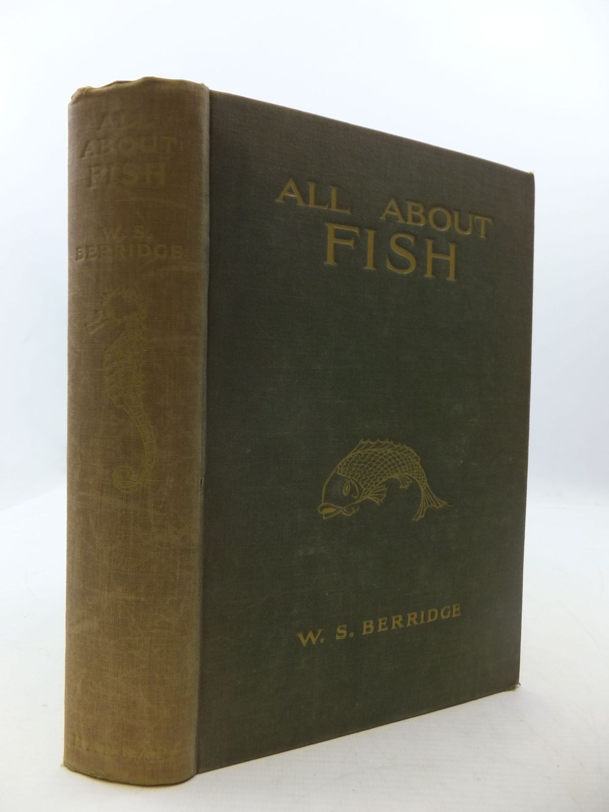 Photo of ALL ABOUT FISH written by Berridge, W.S. published by George G. Harrap & Co. Ltd. (STOCK CODE: 2111364)  for sale by Stella & Rose's Books