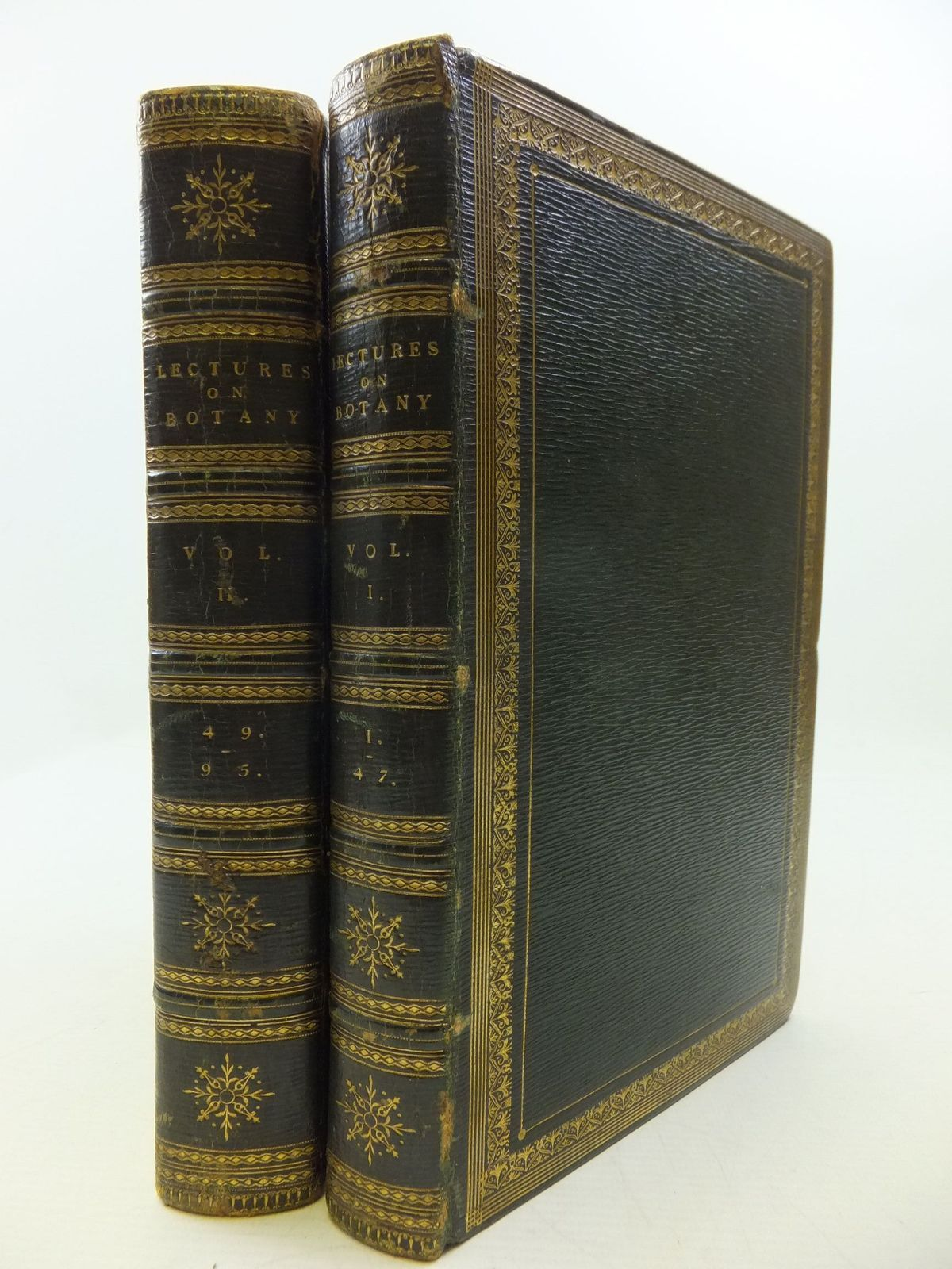 Photo of LECTURES ON BOTANY (2 VOLUMES) written by Curtis, William published by William Phillips (STOCK CODE: 2111578)  for sale by Stella & Rose's Books